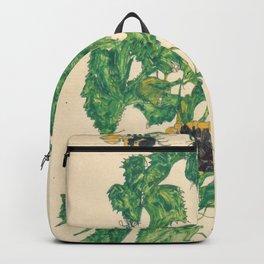 "Egon Schiele ""Sonnenblumen"" Backpack"