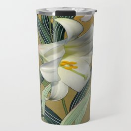 Trumpet Lily Travel Mug