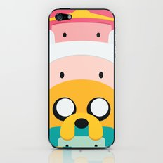 Adventure Time Totem #1 iPhone & iPod Skin