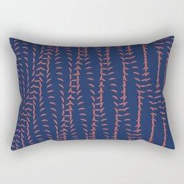 Or_blue Rectangular Pillow