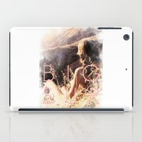 big sur iPad Cases featuring BIG SUR by TOO MANY GRAPHIX