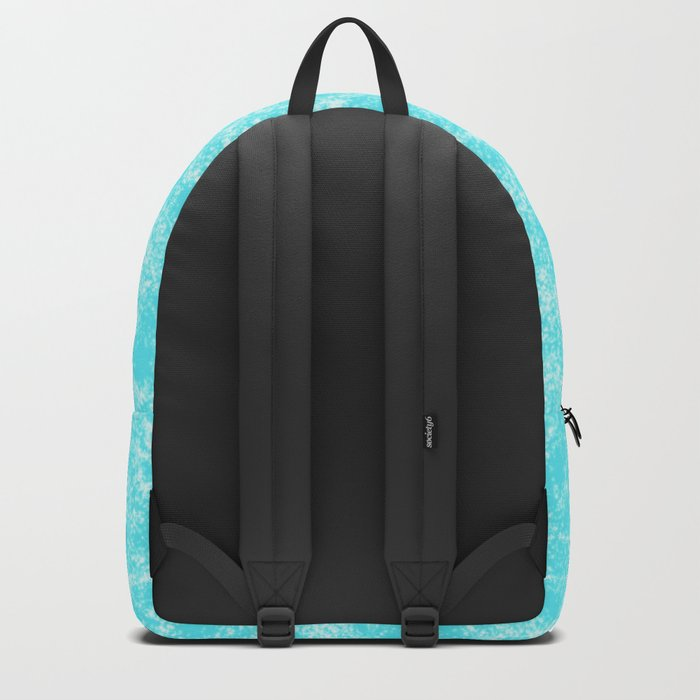 Blue Ice Pattern Backpack