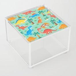Dinos Green Acrylic Box