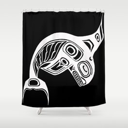 Spirit Keét Night Shower Curtain