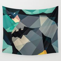 dc comics Wall Tapestries featuring DC Comics Superhero by Eric Dufresne