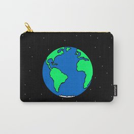 Earth And Stars Carry-All Pouch