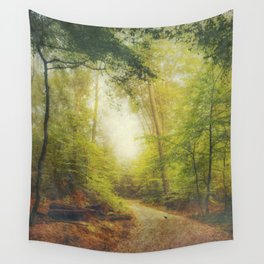 Dreamy Forest Wall Tapestry