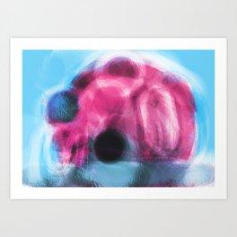 Crystal Dome Art Print