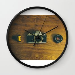 film photography Wall Clock