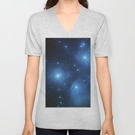 Star Struck - Pleiades Unisex V-Neck