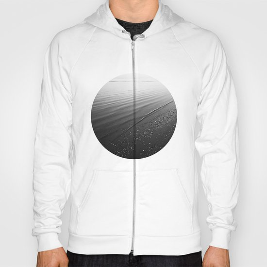 Beach in Black and White Hoody