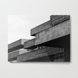 tiered concrete Metal Print