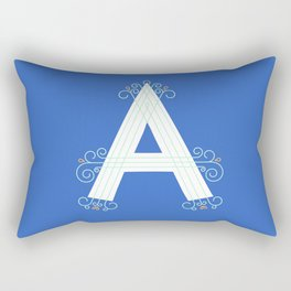 Monogram letter A Rectangular Pillow