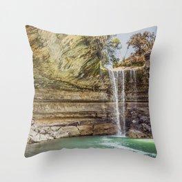 Hamilton Pool Throw Pillow