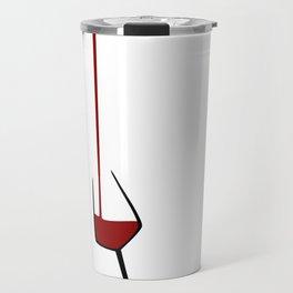 Pouring A Glass Of Wine Travel Mug