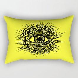 ALL-SEEING DEITY - EYE OF PROVIDENCE Rectangular Pillow