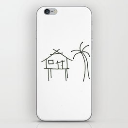 Little Island House iPhone Skin
