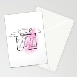 Pink Scent Stationery Cards