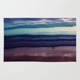 Abstract Sunrise Rug
