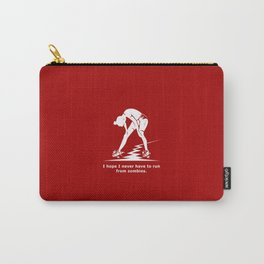 Running from Zombies Carry-All Pouch