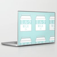 milk Laptop & iPad Skins featuring Milk by Lazy Queen