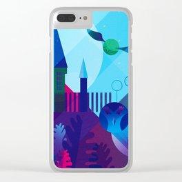 Close Clear iPhone Case