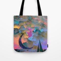 Moonset Tote Bag