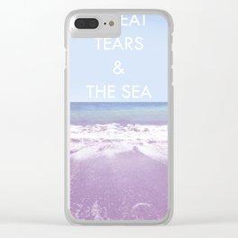 Salt Water Clear iPhone Case