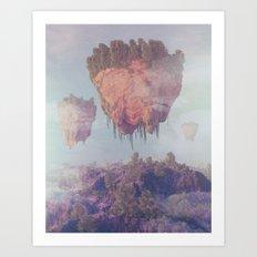 MOLEMOUNT (everyday 01.09.17) Art Print