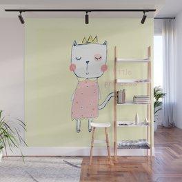 CAT LADY Wall Mural