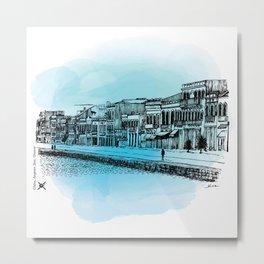 I asked Mama - Chios No5, Aegean Sea, Greece Metal Print