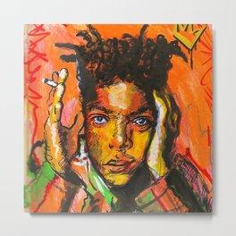 Basquiart Metal Print