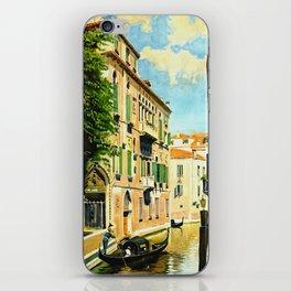 Venezia - Venice Italy Vintage Travel iPhone Skin