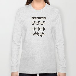 Origami Triangles Long Sleeve T-shirt