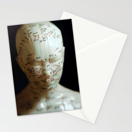 Acupuncture Doll Stationery Cards