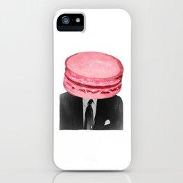 Emmanuel Macaron iPhone Case