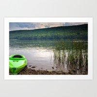 Kayak (part 1) Art Print