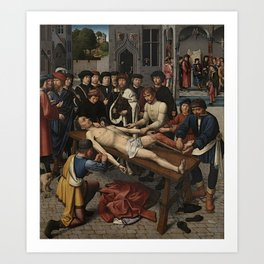 The Judgment of Cambyses Art Print