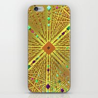 labyrinth iPhone & iPod Skins featuring Labyrinth by Fractalinear