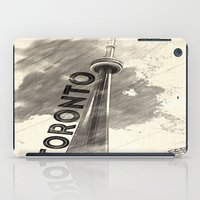 toronto iPad Cases featuring Toronto  by Crystal