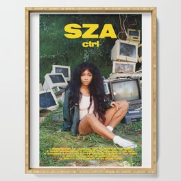 SZA - ctrl - Album Cover Poster - Poster Print Wall Art A3, Custom Poster, Home Serving Tray