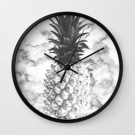 marble fruit Wall Clock