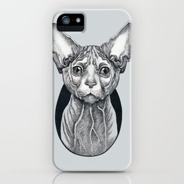 Sphynx cat iPhone Case