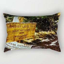 Blueberry Sign Rectangular Pillow