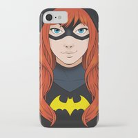 batgirl iPhone & iPod Cases featuring Batgirl by SoLaNgE-scf