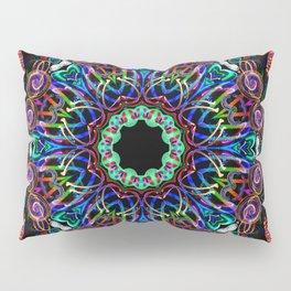LED Hoop Mandala w/ Fire Pillow Sham
