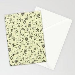 Doodles Pattern Stationery Cards