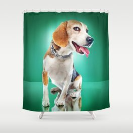 Super Pets Series 1 - Super Buckley Shower Curtain