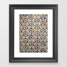 Divide and Conquer Framed Art Print