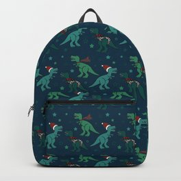 Holiday T-Rex Backpack